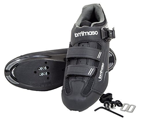 Tommaso Strada 200 Dual Cleat Compatible Spin Class Ready Bike Shoe - SPD - 46