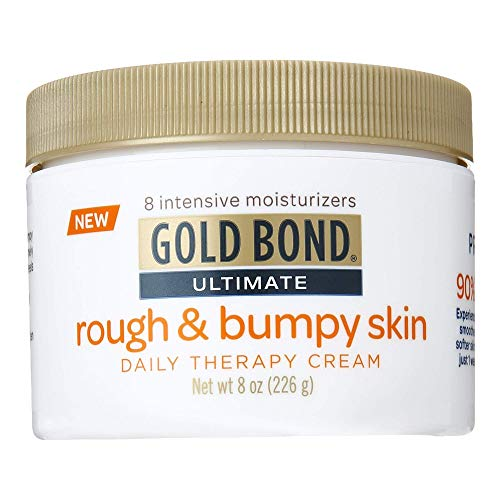 Gold Bond Ultimate Rough and Bumpy Skin Cream (Compare to Amlactin 12%) Pack of 2 8oz (Gold Bond Rough And Bumpy Skin Cream)