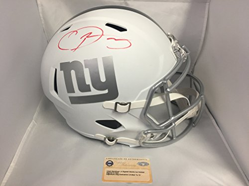Odell Beckham Jr Autographed Signed New York Giants Full Size Ice Helmet EXCLUSIVE #