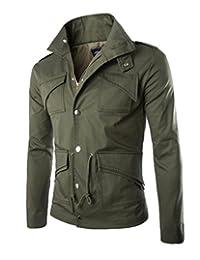 Elonglin Mens High Quality Cotton Jacket Hunting Coat