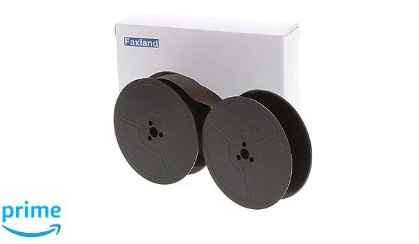 Faxland Compatible cartucho de cinta negro para Olympia Splendid 33: Amazon.es: Oficina y papelería