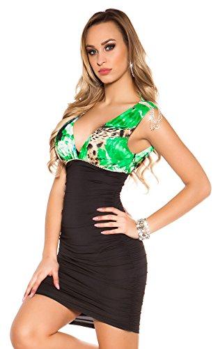 Glamour Fashion Green Angies Xxs Abito da cocktail xvW1qt0