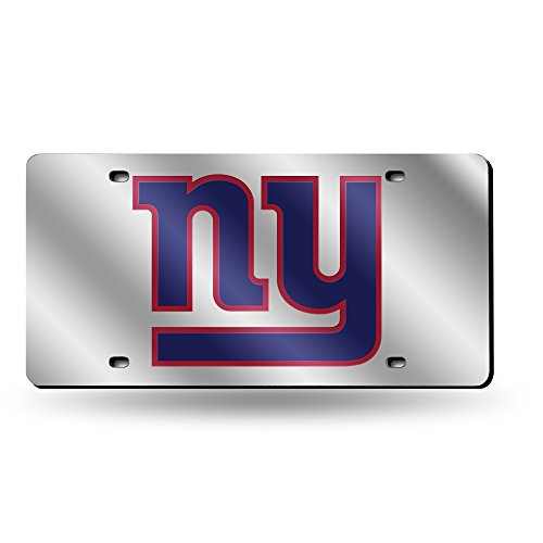 Rico Industries NFL New York Giants Laser Tag (Silver Logo) ()