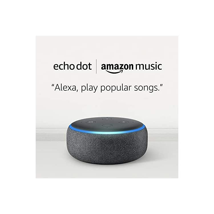 Echo Dot (3rd Gen, Charcoal) for £4.99 when you subscribe to 2 months of Amazon Music Unlimited