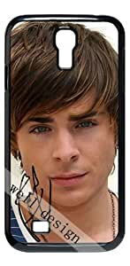 Zac Efron Signed HD image case for Samsung Galaxy S4 I9500 black + Card Sticker