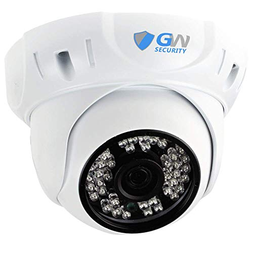 GW Security 5 Megapixel 2592 x 1920 Pixel Super HD 1920P High Definition Outdoor/Indoor PoE Weatherproof Security Dome IP Camera with Wide Angle Len