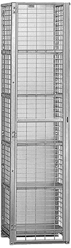 Salsbury Industries Unassembled Security Cage Storage Locker, Standard by Salsbury Industries
