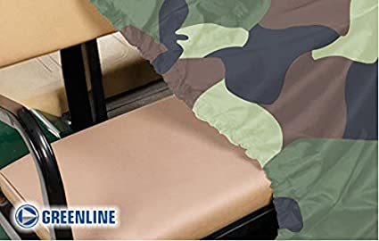 EZ-GO Greenline 4 Passenger Storage Covers by Eevelle Universal Slip-on Fit Yamaha Club Car