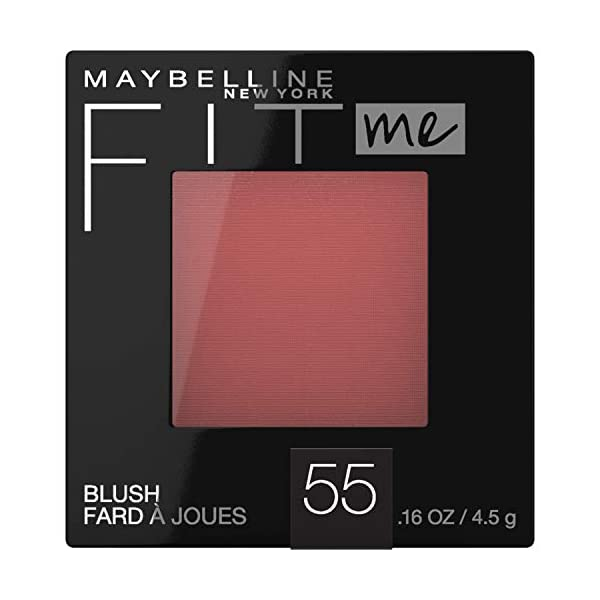 Maybelline New York Fit Me Blush, Berry, 0.16 fl. oz.