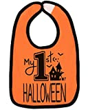 Aiden's Corner Handmade Baby Holiday Bibs - My First Halloween (My First)