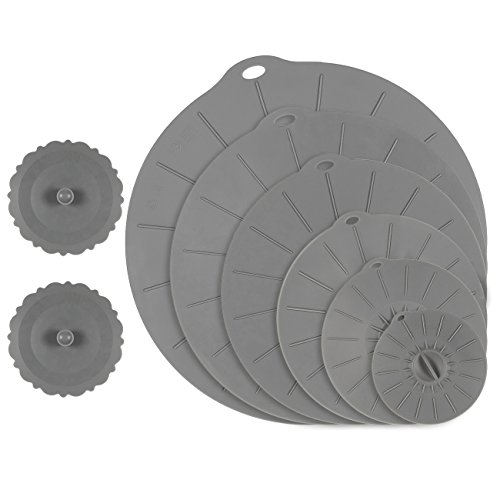 silicone lily pad lids - 5