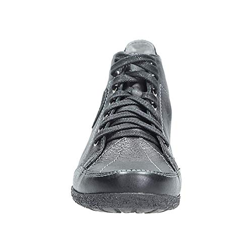 Ankle Schwarz Boots Stiefel mit Damen Schnürsenkel Maciejka 0904C Winter 6AZ51wqnq