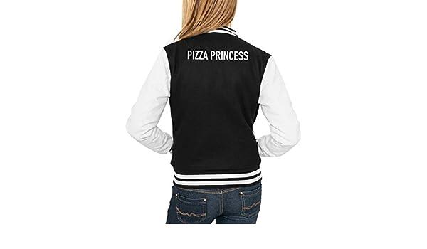 Pizza Princess College Vest Girls Negro Certified Freak: Amazon.es: Ropa y accesorios