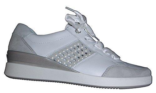 Sneaker 12 Ara Blanco st Lazio Mujer 33345 Xqw1T