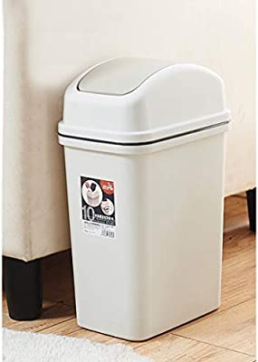 Trash Can Large Waterproof Cover Waste Recycling Bin