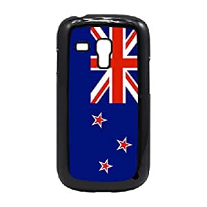 LJF phone case Case Fun Case Fun Flag of New Zealand Snap-on Hard Back Case Cover for Samsung GalaxyS3 Mini (I8190)