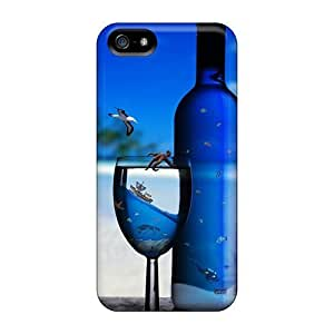 phone covers BestSellerWen Flexible Tpu Back Case Cover For iPhone 5c - Tropical Refreshment
