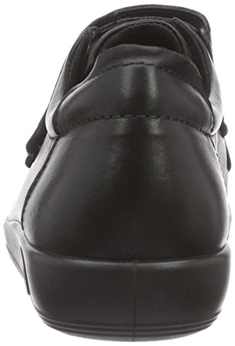 Ecco ECCO SOFT 2.0 Zapatillas para Mujer Negro (BLACK WITH BLACK SOLE56723)