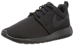 Nike Womens Roshe One Running Shoe Blackblackdark Grey 6