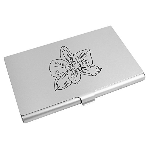 Credit Business Card Holder Card CH00009606 'Open Azeeda Flower' Wallet qtFxEXIT
