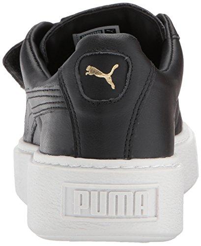 Pumabasket Strap Con puma Nero Platform puma Da Ginnastica Black 41 Wn Scarpe White Eu Donna Plateau E rwr5Cq0v