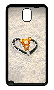Note 3 Case, Galaxy Note 3 Case, [Perfect Fit] Soft TPU Crystal Clear [Scratch Resistant] Bear Cute Back Case Cover for Samsung Galaxy Note 3 N9000 Cases