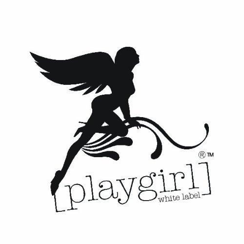 Playgirl White Label Corse Sobre Del Pecho Deshuesado Completa Acero Authentico En Jacquard Marron Sombra Raya