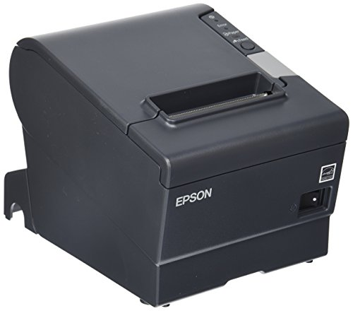 Epson C31CA85834 TM-T88V Direct Thermal Receipt Printer PAR Plus USB EDG PWR Energy Star, Monochrome, 5.8in Height x 5.7in Width x 7.7in Depth(PARALLEL/USB MODEL) (Renewed)