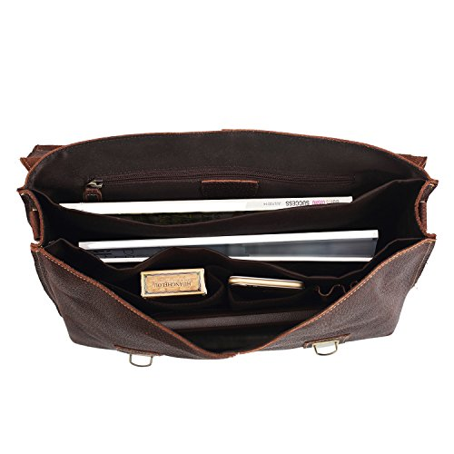 50%OFF Polare Men's Genuine Leather Professional Messenger Bag ...