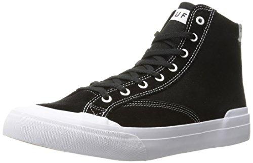HUF Men's Classic HI Ess Skateboarding Shoe, Black, 9.5 US/9.5 M US