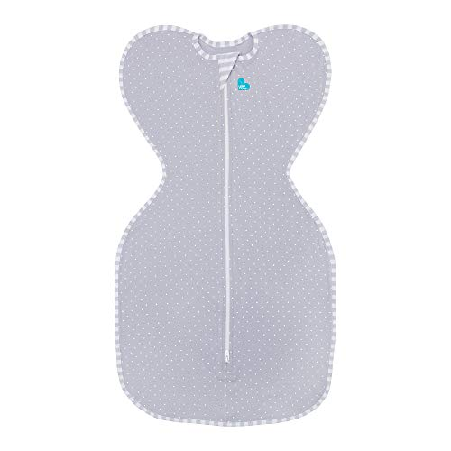 Love To Dream Swaddle UP Lite 0.2 TOG, Gray, Small, 6.5-13 lbs. by Love to Dream