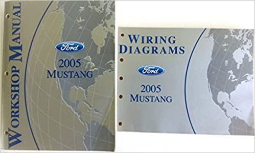 fcs-12193-05 and the wiring diagrams manual, ford part no  fcs-12121-05)  paperback – 2004