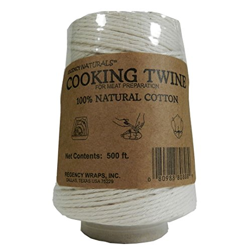 Regency Natural Cooking Twine 1/2 Cone 100% Cotton 500ft by Regency Wraps (Image #2)