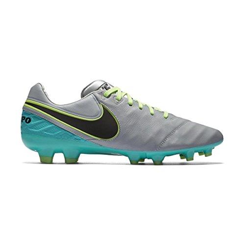 Nike Tiempo Legacy II FG, Botas de Fútbol para Hombre Gris