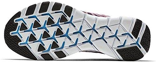 Nike Herren Free TR Force Flyknit Laufschuhe Grand Lila / Weiß