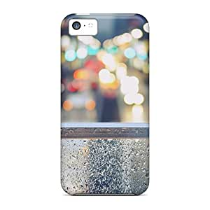 New Style Cases Covers DQc9111rVkh Tokyo Street Lights Compatible With Iphone 5c Protection Cases