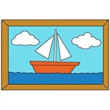 Sailboat Painting Over The Couch Cartoon TV Show Poster 18x12