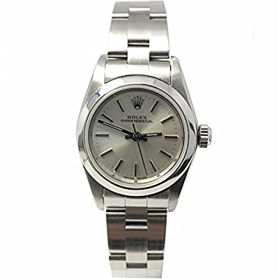 Rolex Oyster Perpetual swiss-automatic female Watch 76080 (Certified Pre-owned) from Rolex