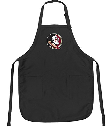 (Broad Bay Florida State Aprons FSU w/Pockets Grilling Gift Him Her)