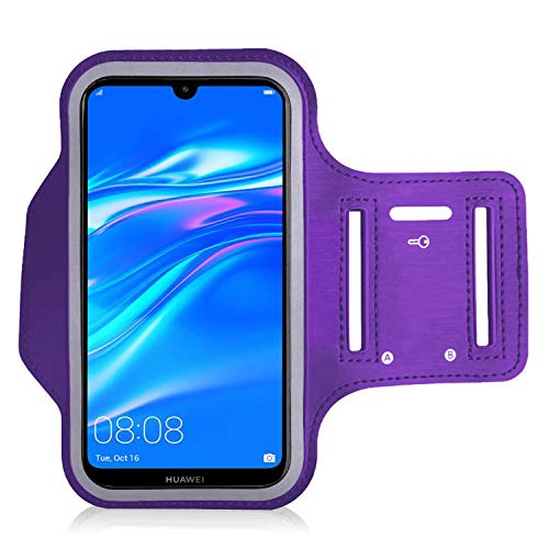iPro Accessories Compatible With Armband For Huawei Y7 2019/Y6 2019, Huawei Y7 2019/Y6 2019 Protective Case, Sports…