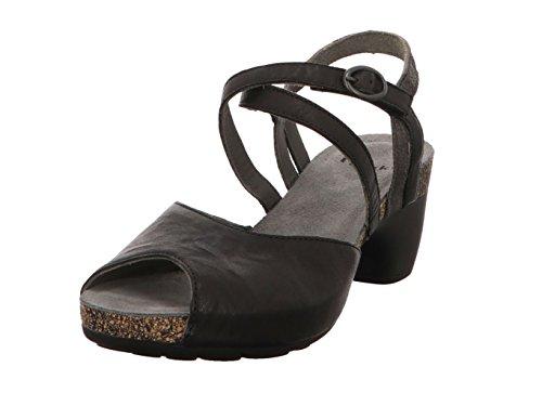 kombi SZ moda para KOMBI mujer ¡Pensar 09 SZ negras de 80570 Sandalias x0awwTq8F