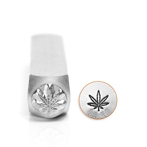 ImpressArt- 6mm, Hemp Leaf Metal ()