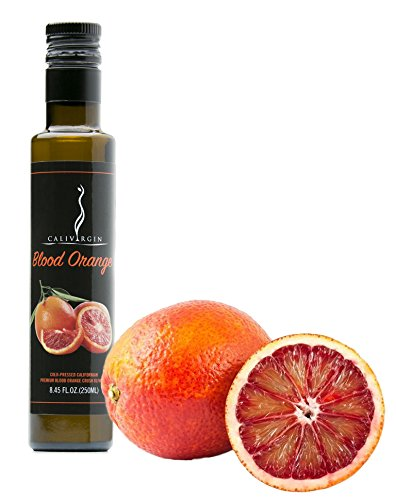 Price comparison product image Calivirgin Blood Orange Flavor-Crushed Olive Oil - 100% Natural Fresh Flavor,  No Additives or Preservatives - Organically and Sustainably Grown in California (8.45 Fl.Oz. / 250ML)