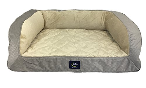 serta-orthopedic-quilted-couch-grey