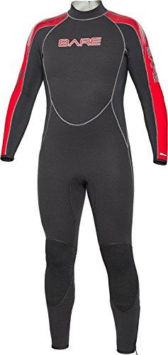 Bare 5mm Velocity Full Suit Super-Stretch Wetsuit, Men's