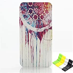Wind Chimes Pattern PU Leather Full Body Case Have A Perfume and Phone Holder for iPhone 6
