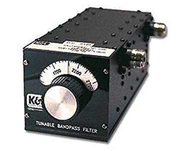 K&L Microwave Tunable Bandpass Filter, Tuning Range 250 to