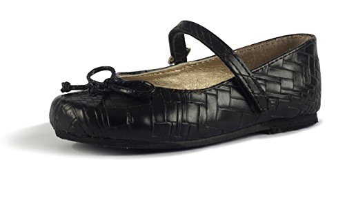 Subibaja Anita Mary Jane Shoes - Narrow Flats for Girls Baby/Toddler/Little Kid (Shoes Infant Narrow)
