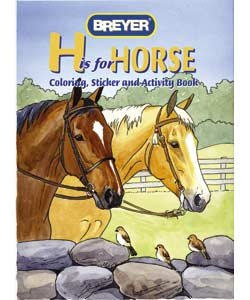 """H"" is for Horse Coloring, Sticker and Activity Book"