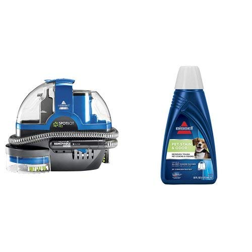 Bissell Spotbot Pet Portable Deep Cleaner with Pet Stain & Odor and Pet Boost Oxy